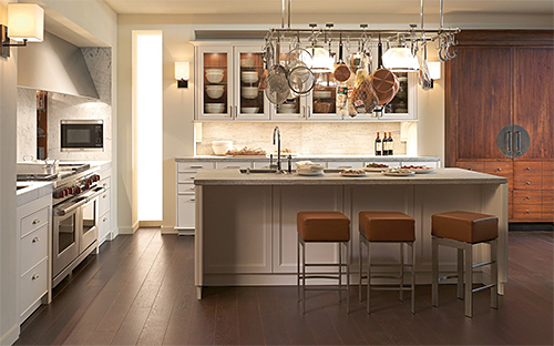 PIRCH Kitchen with Chinese-Inspired Hardware