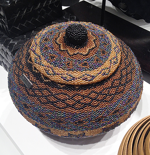 Seed Bead Basket at PIRCH