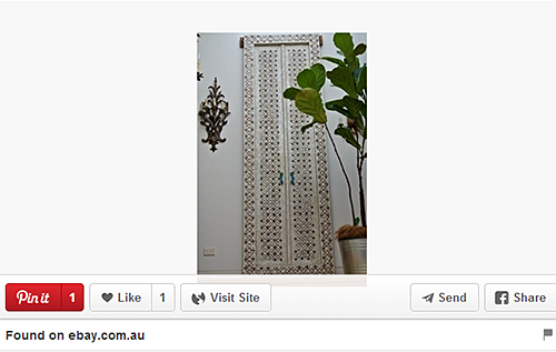 Indian Inlaid Doors on Pinterest