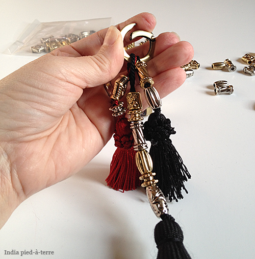 Loading Tassels on Keyring