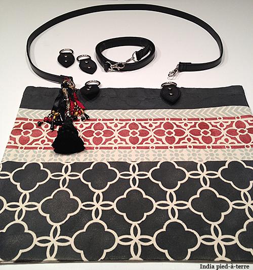 DIY Stenciled Tote Bag Anthropologie-Style