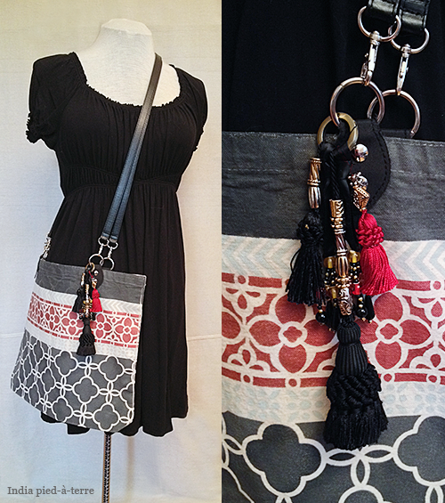 Tassel Bundle on Tote Bag