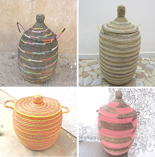 African Baskets Etsy Shop Baskets from Senegal