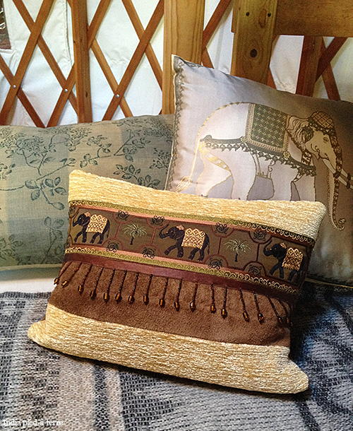 Luxurious Glamping Pillows