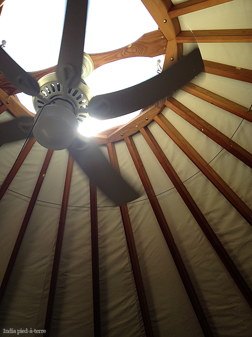 Roof of the Yurt