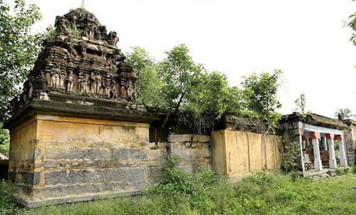 Old Temple in Osur India