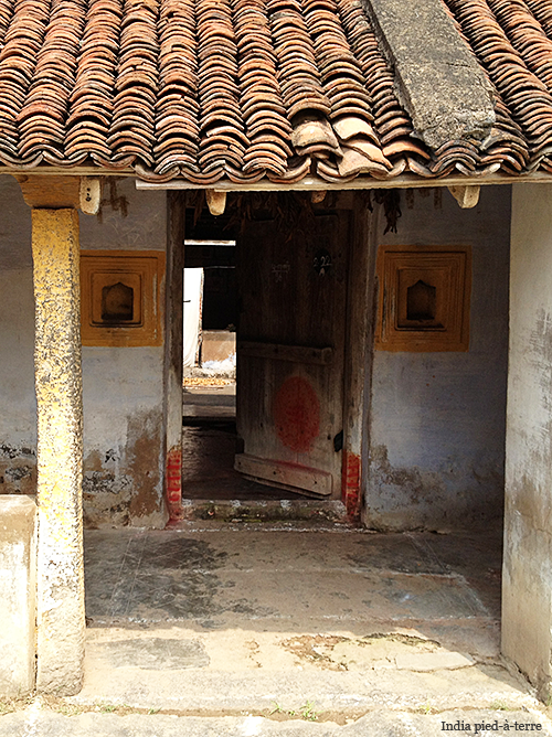 Rural South India Village Home Entrance