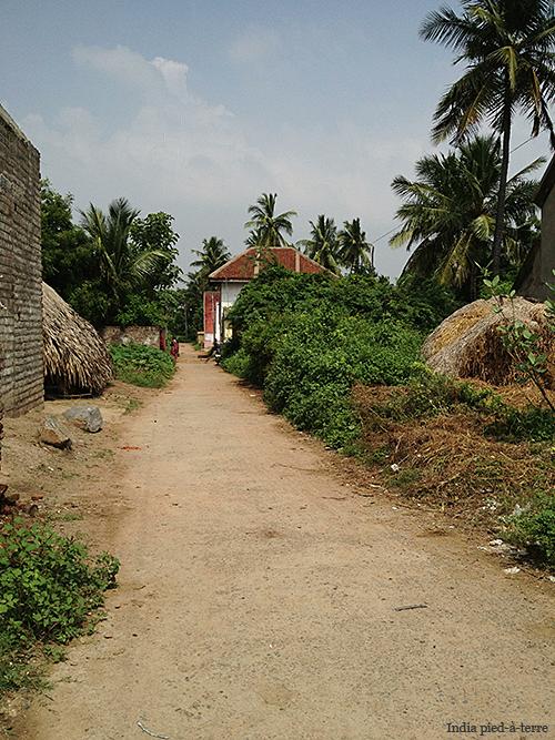 Street in Osur Village