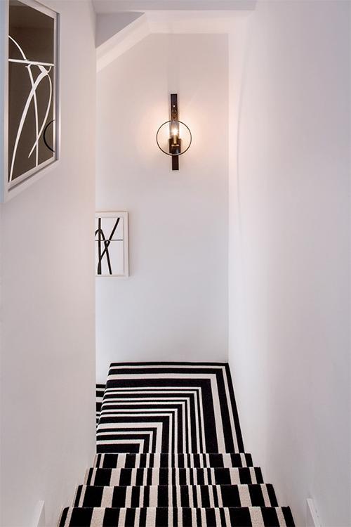Bold Staircase Runner via Domaine
