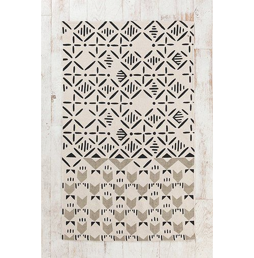 Magical Thinking Slice Stamp Rug from Urban Outfitters