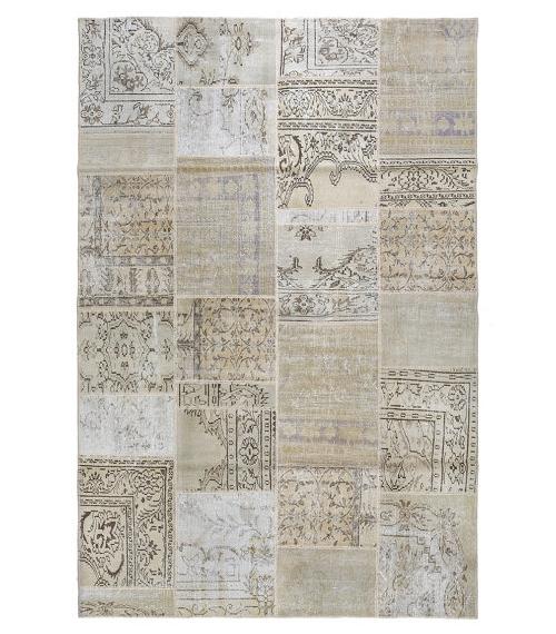 Patchwork Rug from Etsy Seller Vintage Carpets