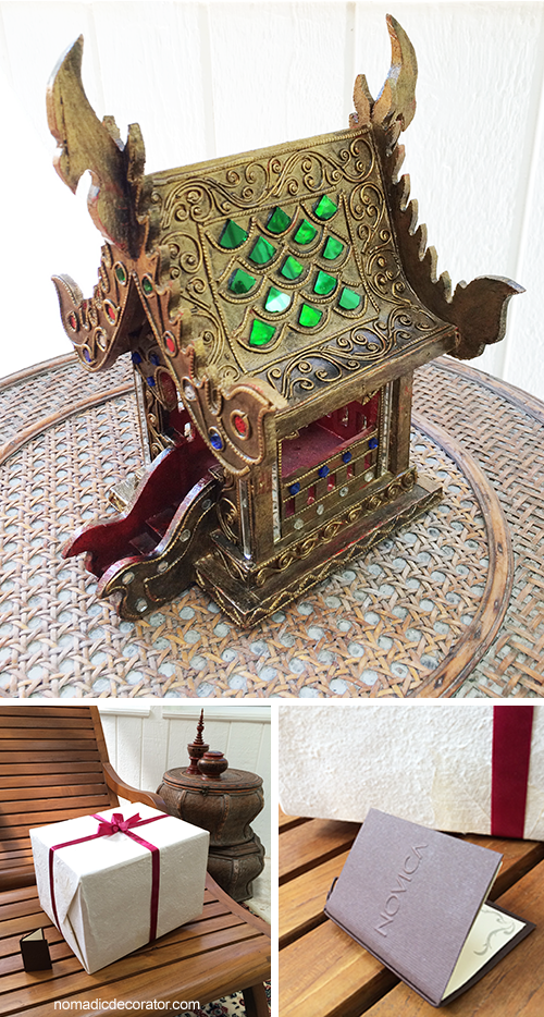 Thai Spirit House from Novica