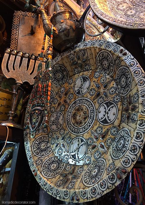 Bone Platter in Marrakech Souk