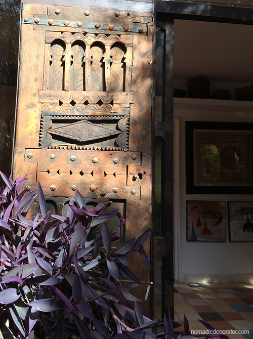 Old Moroccan Wood Door