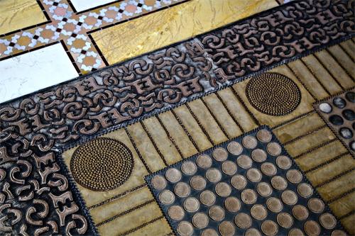 Royal Mansour Pattern Mix via Slim Paley