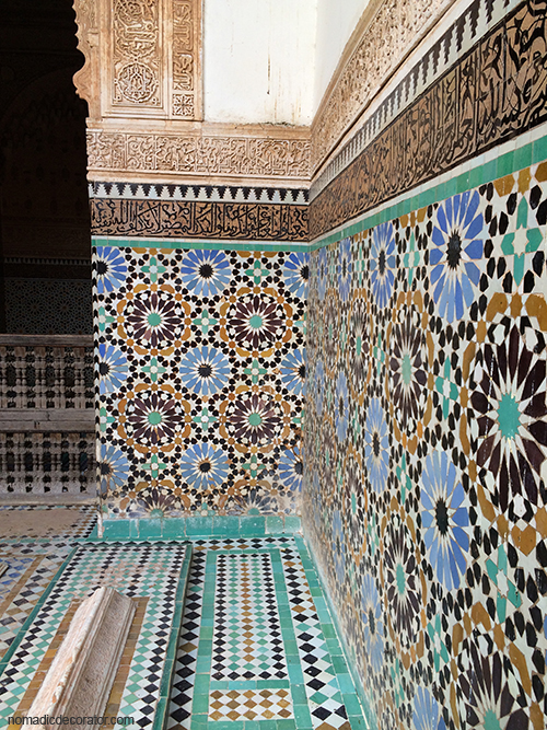 Saadian Tombs Patterns