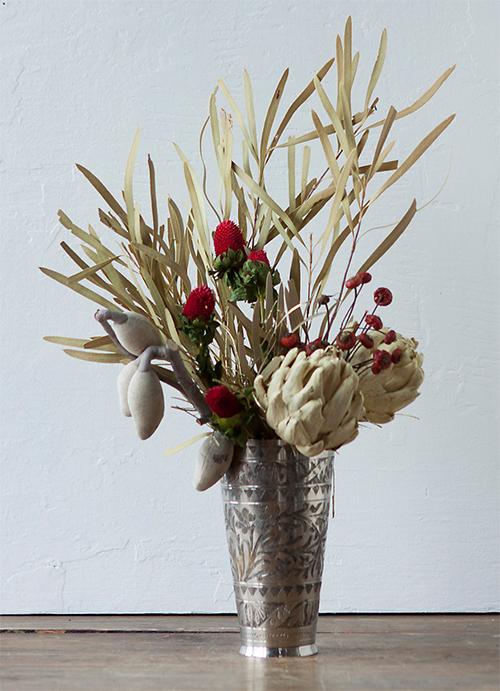 Terrain Artichoke Christmas Bouquet