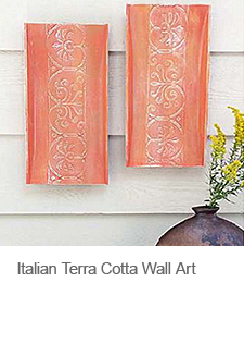 DIY Italian Terra Cotta Wall Art