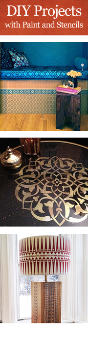 DIY Projects with Stencils