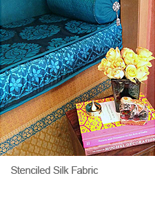 How to Stencil on Silk