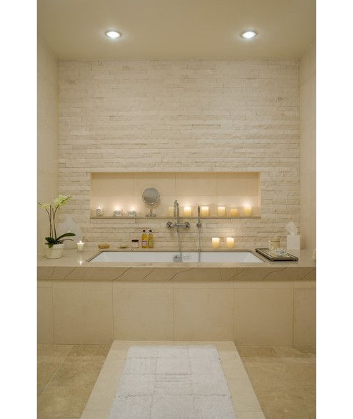 Neutral Bathroom via Lonny