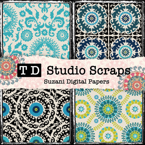 Todays Home Decor Textile Trends In Scrapbook Paper Nomadic Decorator