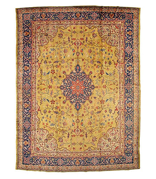 Antique Oushak Rug from Turkey