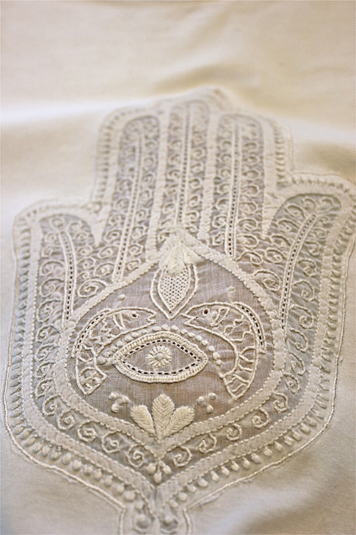 Embroidered Hamsa