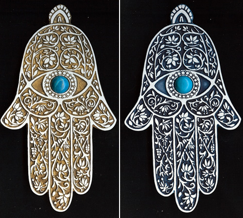 Hamsa Wall Art from Sumon.com