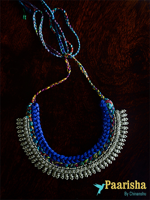 Mumbai Woven Necklace by Paarisha