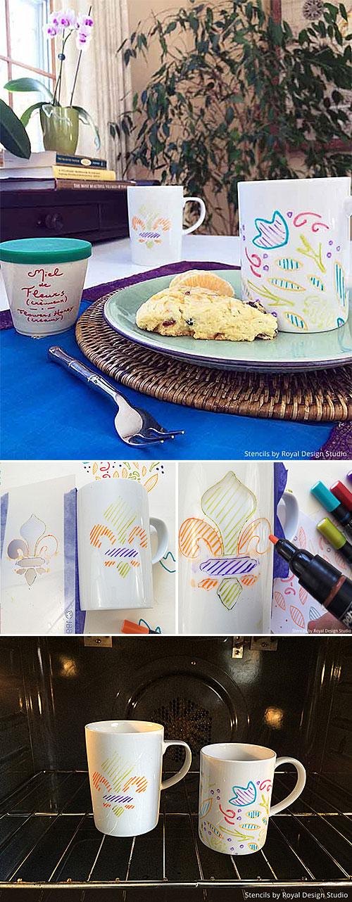 Painting Coffee Mugs