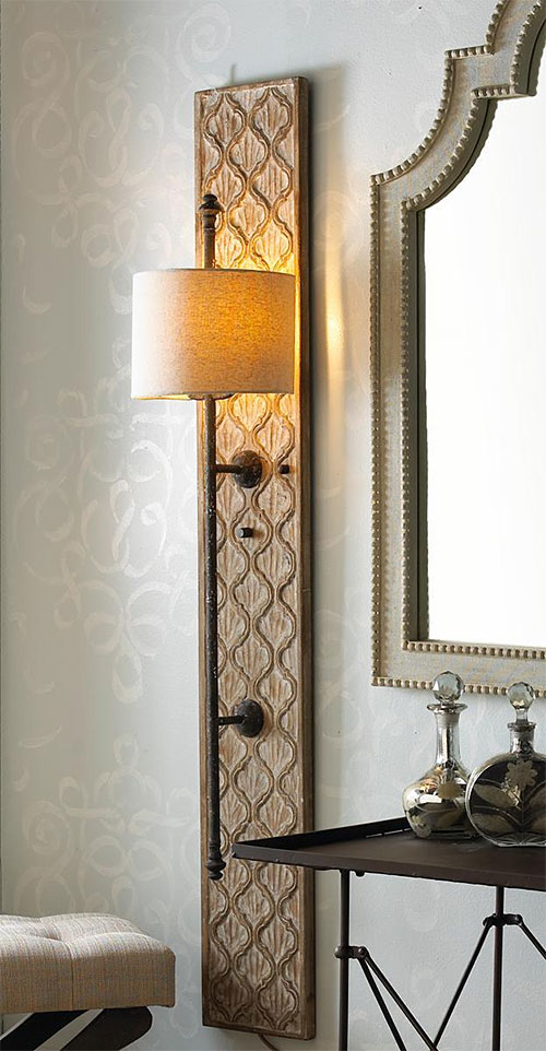 Shades of Light Quatrefoil Sconce