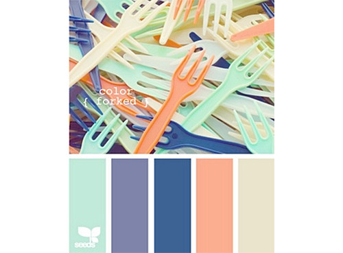 Manufactured Mint Coral Blue