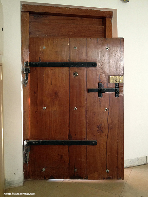 Antique South Indian Door
