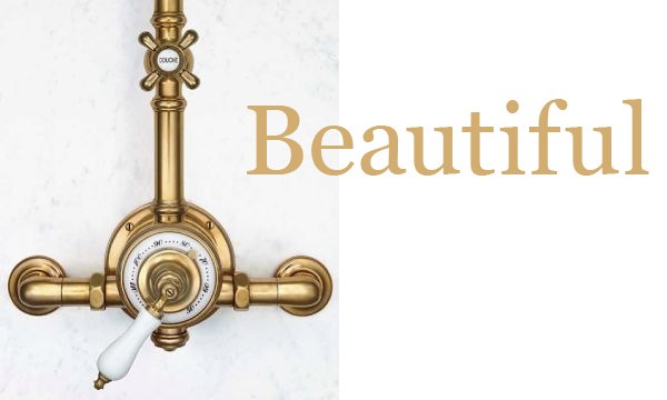 Waterworks Unlacquered Brass