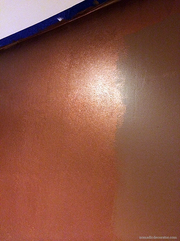 Copper Metallic Paint from Modern Masters
