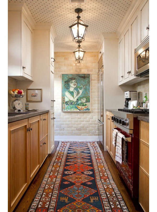 Apartment Therapy Rug In Kitchen