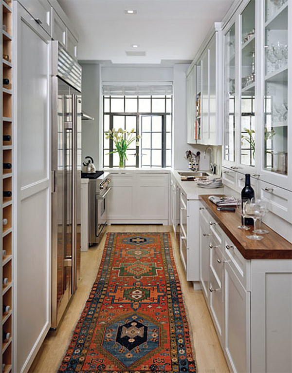 Rug In Kitchen   Architectural Digest