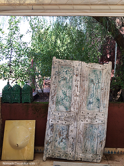 Garden Composition in Moroccan Artist Colony
