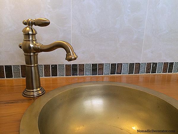 Unlacquered Brass Basin