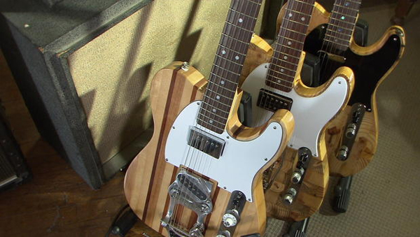 CBS News Mark Wallace Guitars from Detroit
