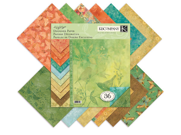 K and Company Scrapbook Paper Pack