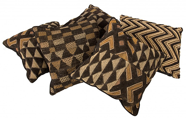 Vintage Kuba Cloth Pillows at Jayson Home
