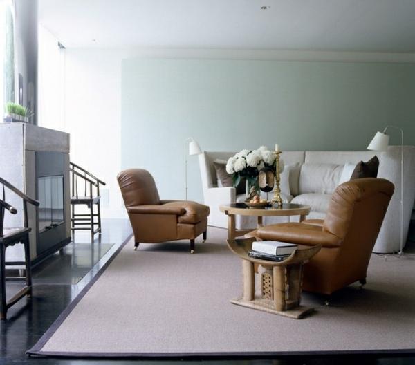Ashanti Stool in Modern Room