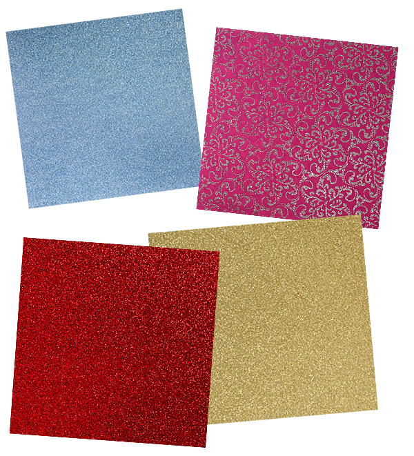 Glitter Paper at Michaels