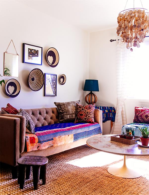 Justina Blakeney The Jungalow Designed Living Room