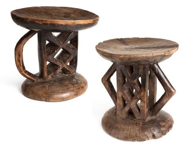 Tonga Stools from SnobStuff