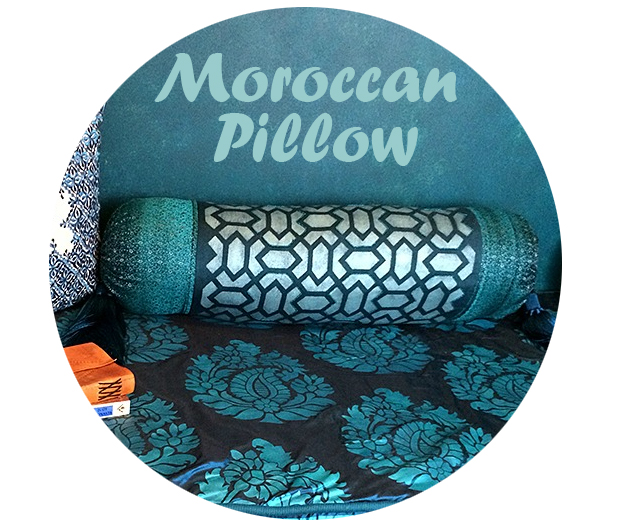 DIY Moroccan Pillow