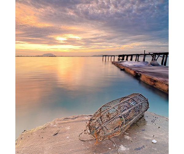 Malaysia Fish Trap by Sir Mart on Flickr
