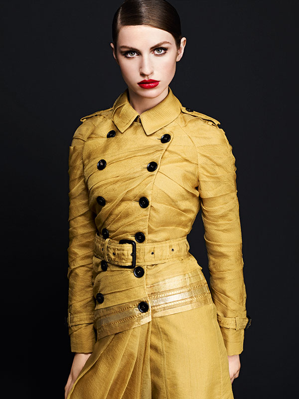 Burberry Maheshwari Silk Trench